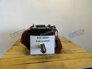 Rtlc16609e Eaton Fuller 9 Or 13 Speed Convertible Transmission