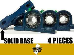 4 Pieces 1 1 2 Pillow Block Bearing Ucp208 24 Solid Foot P208