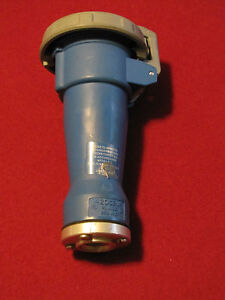 Hubbell Pin And Sleeve 420c9w 20a 3phase 250v With 1 2 Female Connector