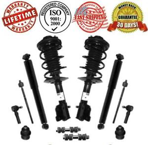 Pt Cruiser 01 05 Front Struts Rear Shocks Ball Joints Sway Bars Tie Rods