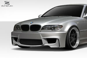 Duraflex E46 1m Look Front Bumper Cover 1 Piece For 3 Series Bmw 99 06 Ed1