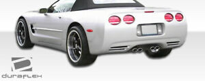 Duraflex C4 C5 Conversion Rear Bumper Cover 1 Piece For Corvette Chevrolet