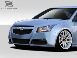 Duraflex Gt Racing Front Bumper Cover 1 Piece For Cruze Chevrolet 11 15 Ed_