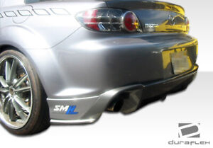 Duraflex M 1 Speed Rear Lip Under Spoiler Air Dam 1 Piece For Rx 8 Mazda 04