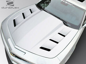 Duraflex Ts 1 Hood Body Kit 1 Pc For Chevrolet Camaro 10 15 Ed_108983