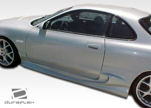 Duraflex Vader 2 Side Skirts Rocker Panels 2 Piece For Celica Toyota 90 93