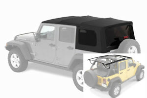 2007 2017 Jeep Wrangler Unlimited Factory Style Soft Top With Complete Hardware