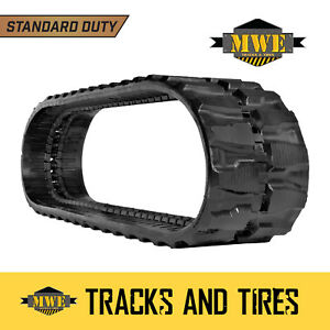 Bobcat 331 331e 334 Or 425 Pair 13 Standard Duty Excavator Rubber Tracks