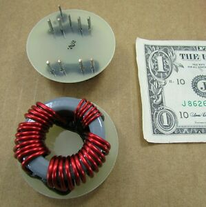 2 Large Dt Magnetics Wire Wound Ferrites Chokes Filters toroids Inductors T8820