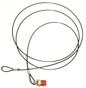Pull Cable Air Compressor Tank Drain 1 4 Mpt X 5 Ft Long Cable
