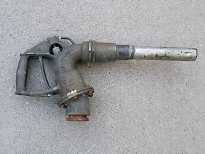 Vintage Antique Gas Pump Dispenser Diesel Fuel Brass Barnes 1 1 2 Mill n 4180