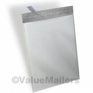 150 19x24 White Poly Mailers Shipping Envelopes Bags 2 5 Mil 100 Recyclable