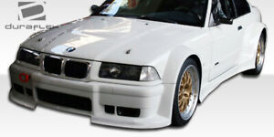 Duraflex M3 E36 2dr Gt500 Wide Body Front Bumper Cover 1 Piece For 3 series