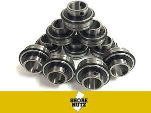 10 Pieces Ser205 16 1 Er16 Insert Ball Bearing With Snap Ring New Er205 16