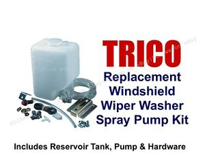 Trico 102 Windshield Washer Pump Reservoir Kit Name Brand Alternative To 99300