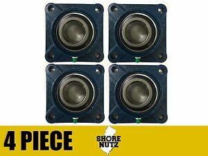 4 Pieces 1 1 8 4 Bolt Flange Bearing Ucf206 18 Ucf206