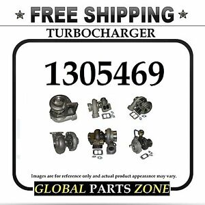 New Turbo Turbocharger For Caterpillar Cat 3406 3412e 1305469 0r7075 Ships Free