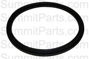 Black Door Gasket Seal For Electrolux Wascomat W630 Washers 184102