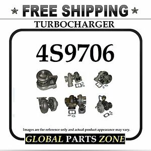 New Turbo Turbocharger For Caterpillar Cat 4s9706 3s9534 4s 9706 Free Delivery