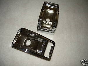 1965 Dodge Coronet 440 Tail Light Housings Brand New