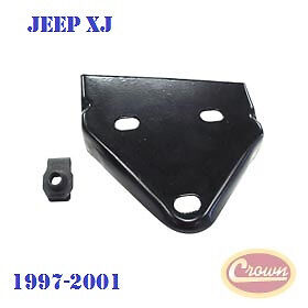 55175269ab Crown Front Bumper Bracket Left Jeep Cherokee Xj 1997 2001