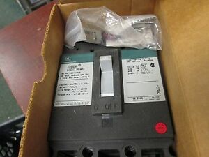 Ge Hi break Circuit Breaker Thed124020wl 20a 480vac 250vdc 2p New Surplus