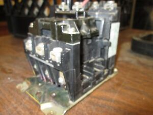 Allen bradley Contactor 400f b40nd3 30hp 120v Coil 3p Used