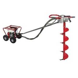 Little Beaver Auger Post Hole Digger 5 5 Honda Engine augers Sold Separately
