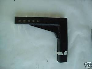 Adjustable Weight Distribution Trailer Hitch Shank 8 3 4 Drop 2 1 2 Recievers
