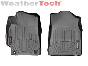 Weathertech Floorliner Floor Mats For Toyota Camry 2015 2017 1st Row Black