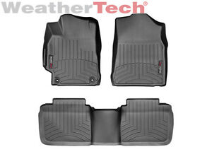 Weathertech Floorliner Custom Floor Mats For Toyota Camry 2015 2017 Black