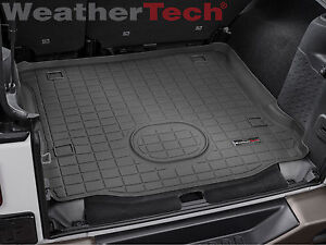 Weathertech Cargo Liner Trunk Mat For Jeep Wrangler Unlimited 2015 2018 Black