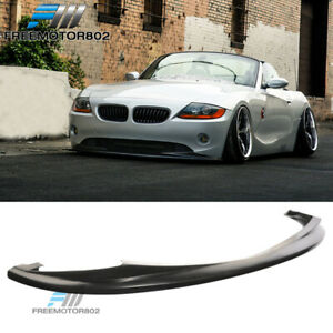 Fit 2002 2005 Bmw E85 Z4 Euro Ds Style Poly Urethane Front Bumper Lip Spoiler