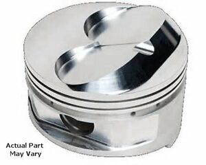 Manley Sbc Chevy 593800 8 4cc Dome Pistons 4 125 Bore W 4 000 Gas Ported