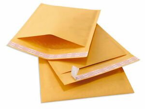 100 cd Tuff Kraft Bubble Mailers 7 25x8 Self Seal Padded Envelopes 7 25 X 8