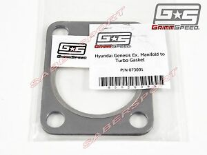 Grimmspeed Exhaust Manifold To Turbo Steel Gasket For 10 13 Genesis Coupe Turbo