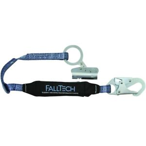 Falltech Fall Protection Lifeline Rope Grab Self tracking W attached Lanyard