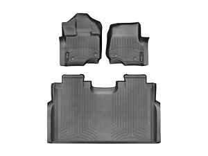 Weathertech Floorliner For Ford F 150 Supercrew W Front Bench 2015 2019 B