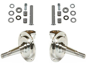 New 1928 1948 Ford Spindles With King Pins chrome forged hot Rod street Rod