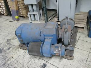 Emerson Dc Motor W Blower Brake 3680b152000 20hp 500vdc 300 150 Upc Field