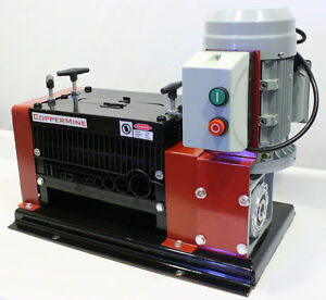 1 year Warranty powered Copper Wire Stripper cable Stripping Machine