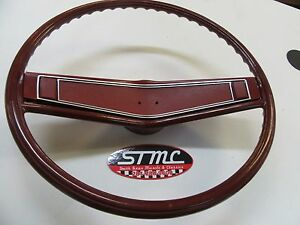 1969 1970 Chevelle El Camino 69 Camaro New Red Ss Steering Wheel Kit