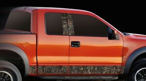 Camo Wild Oak Vehicle Truck Auto Body Side Rocker Panel Graphics Decal
