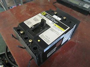 Square D Circuit Breaker Fhl36000m4200 100a 3p Used