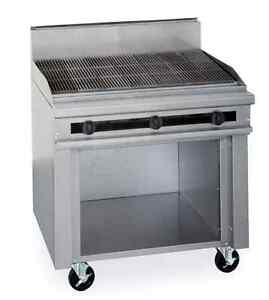 Therma tek Tmds36 36rb 0 Restaurant Range Char Broiler Made In The Usa