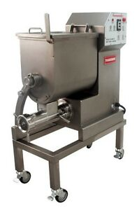 Brand New Thunderbird Amg 50 Meat Grinder Mixer 6 Hp 110 Lbs Capacity 32