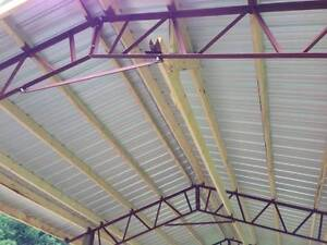 3 20 Pole Barn Steel Trusses