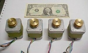 4 Sinotech Stepper Motors 42byg401 06a Robotic Cnc Mill Animated Stage Props New