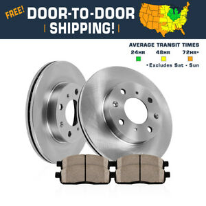 Front 278 Mm Rotors Ceramic Pads 2005 2006 2007 Ford Focus Lx Se Zts Ztw