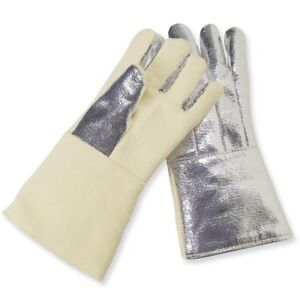 Chicago Protective Apparel Aluminized Back Hi temp Gloves Pair